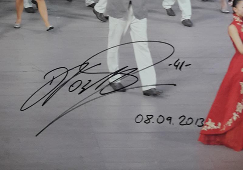 Nowitzkis signiertes Foto