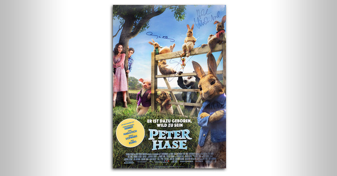 Peter Hase Movie Poster