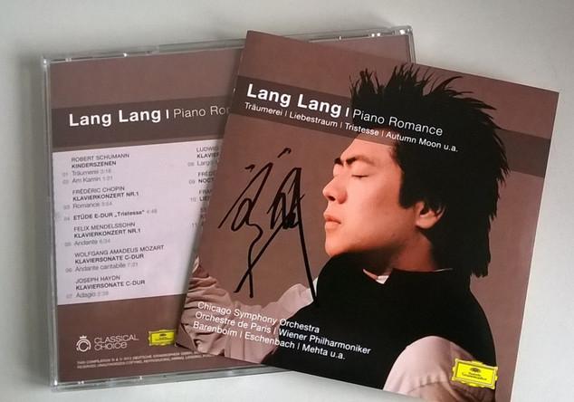 Piano Romance Lang Lang