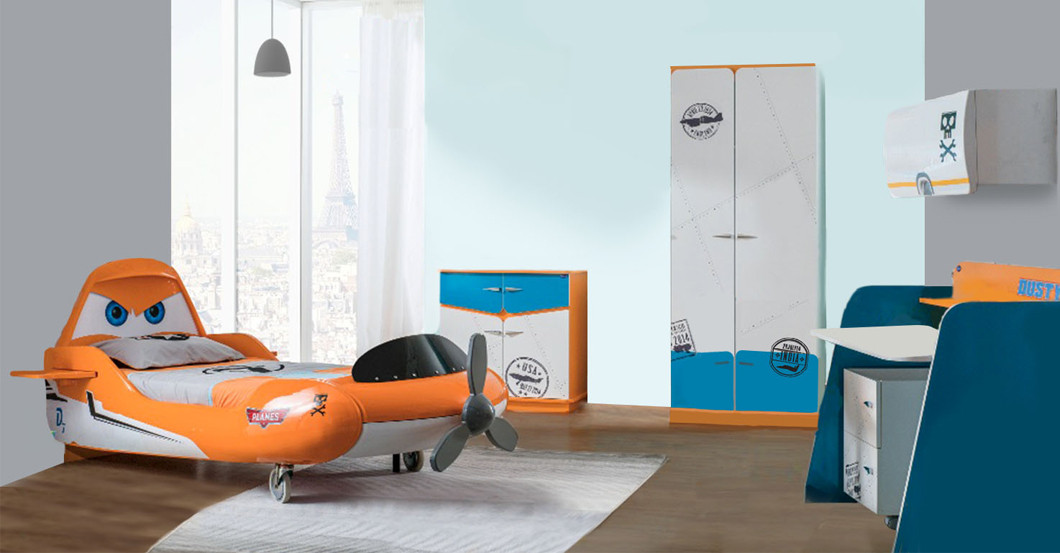 "Komplettes Kinderzimmer zum Disney-Kinoerfolg ""Planes"" | {Komplettes kinderzimmer 13}"