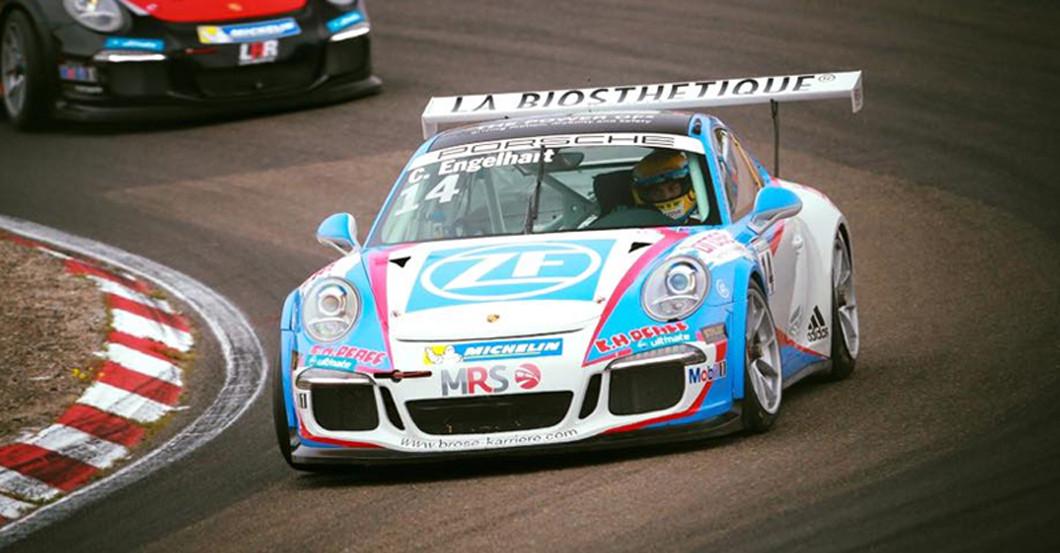 Porsche Cup mit Engelhart