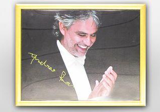Portrait Andrea Bocelli