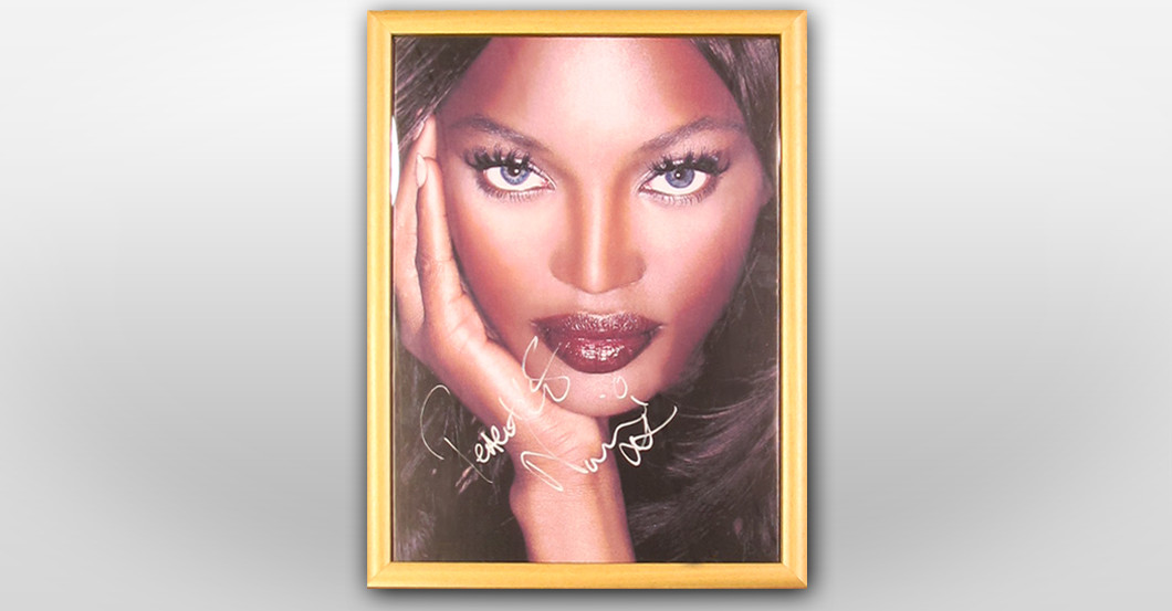 Portrait Naomi Campbell