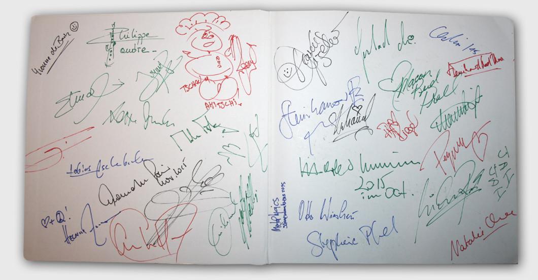 Celebrity Book signed
