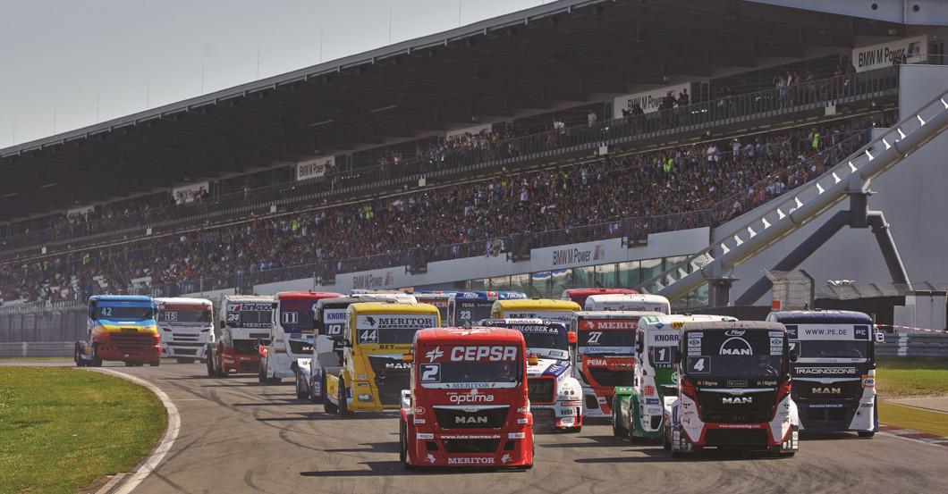 Race Truck Fahrt