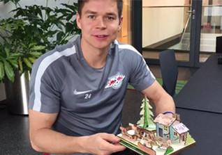RB Leipzig Krippe