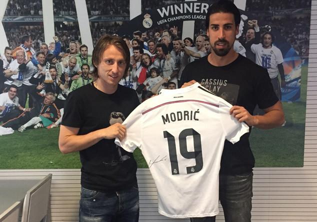 Real-Trikot Luka Modrić