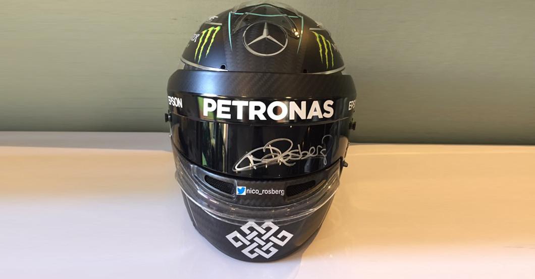 Racing Helmet Rosberg