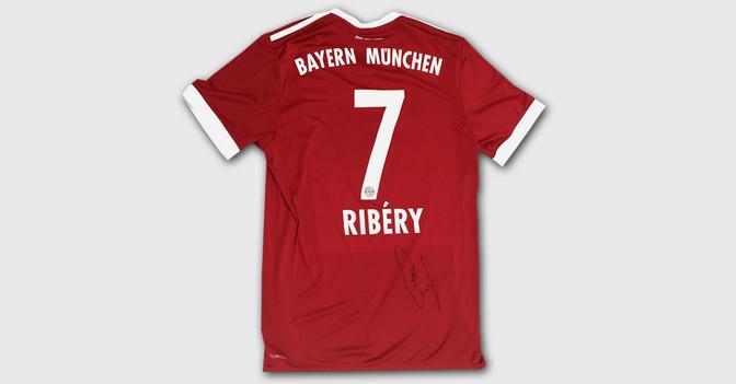 Riberys Bayern Trikot