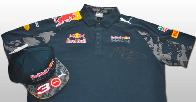 Ricciardo Shirt und Cap