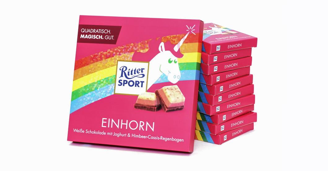 Einhorn Ritter Sport