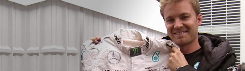 Rosbergs Mexiko Rennanzug