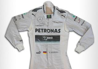 Rosbergs Rennanzug 2013