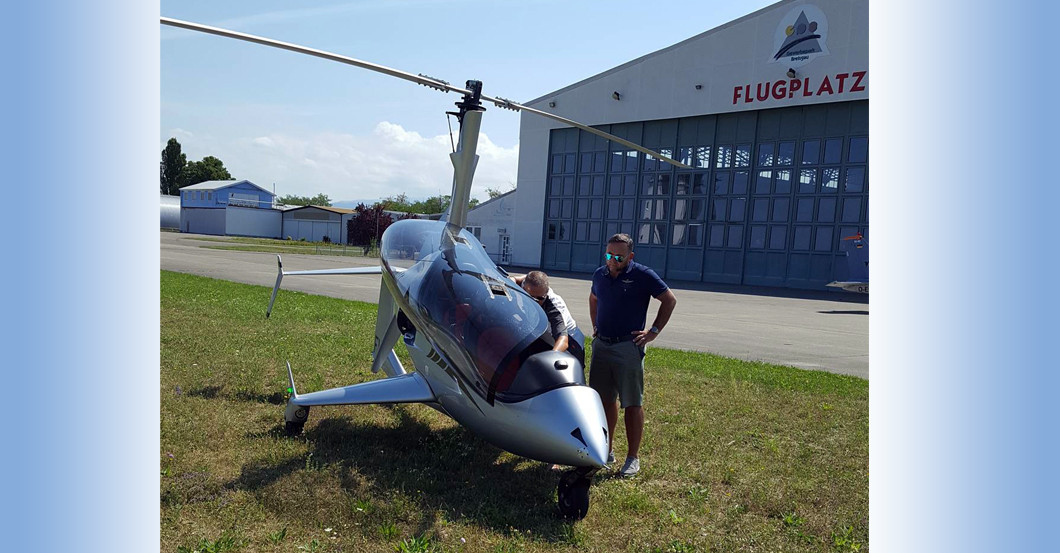 Rundflug Arrow Copter