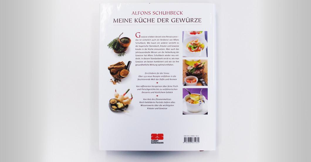 """Alfons Schuhbecks """"Meine Küche der Gewürze"""" mit Signatur"""