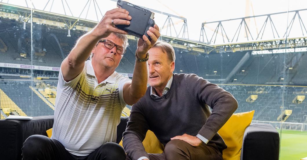 Selfie Sammlung signiert