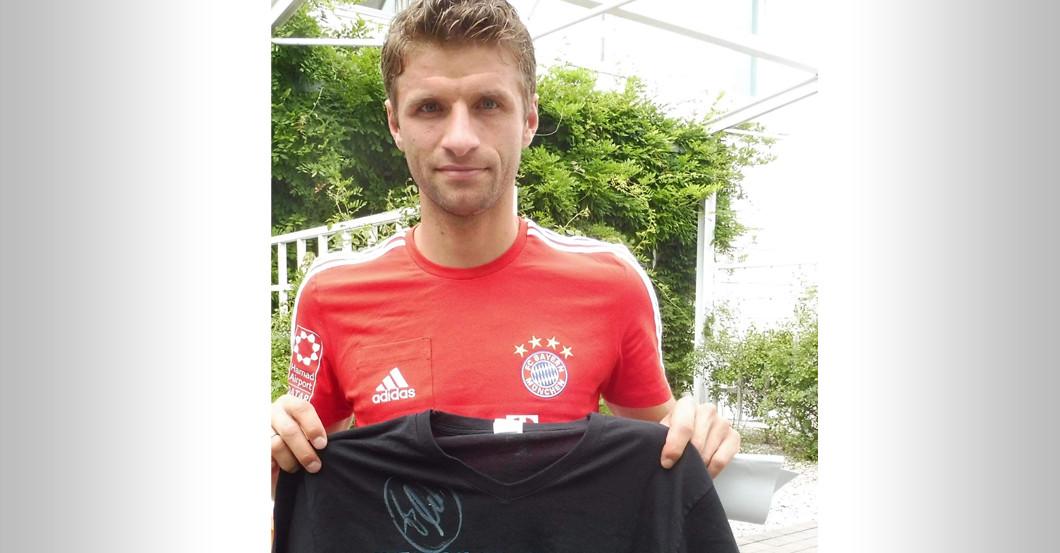 Thomas Müller Unterschrift