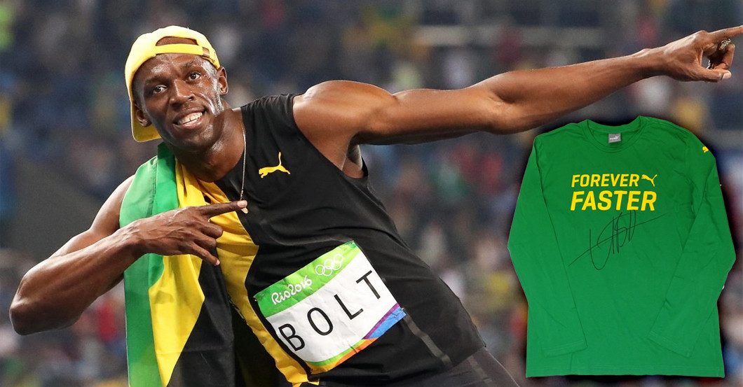 Shirt Usain Bolt