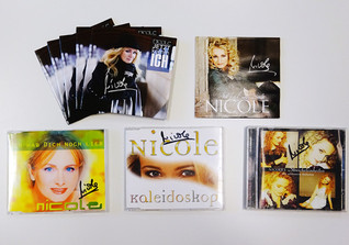 Signierte CDs Nicole