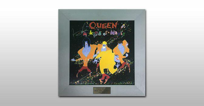 Signierte Queen LP