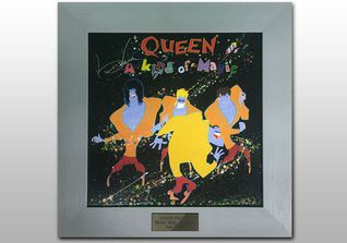 Signierte Queen LP