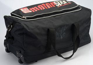 Signierte Sporttasche