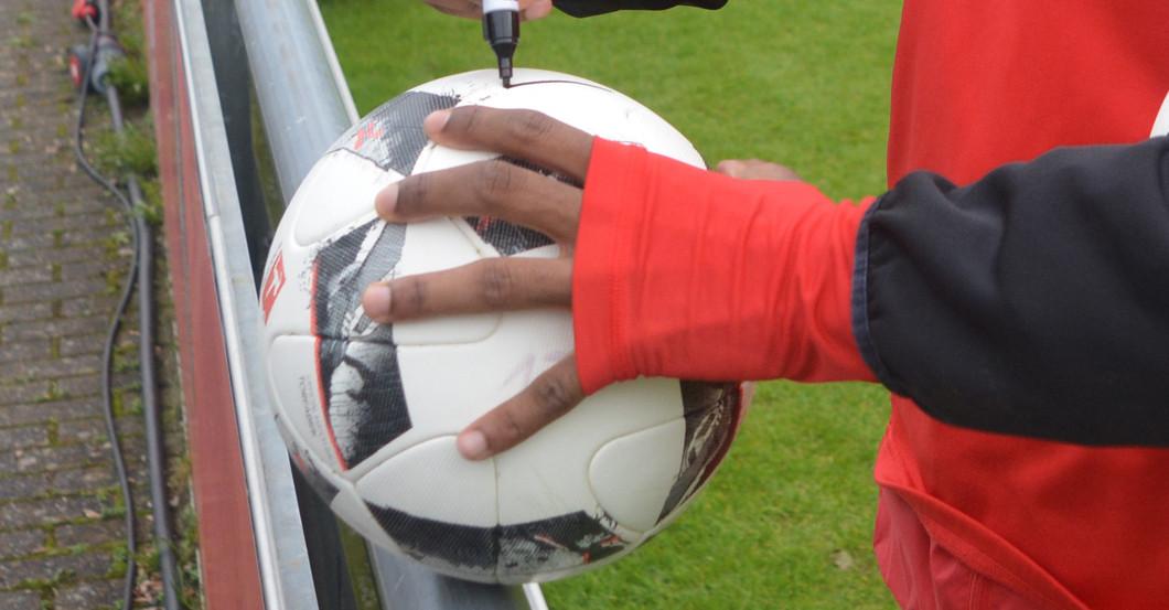 Signierter Ball Modeste