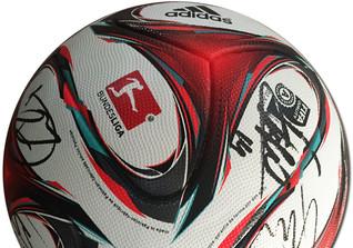 Signierter Bundesligaball