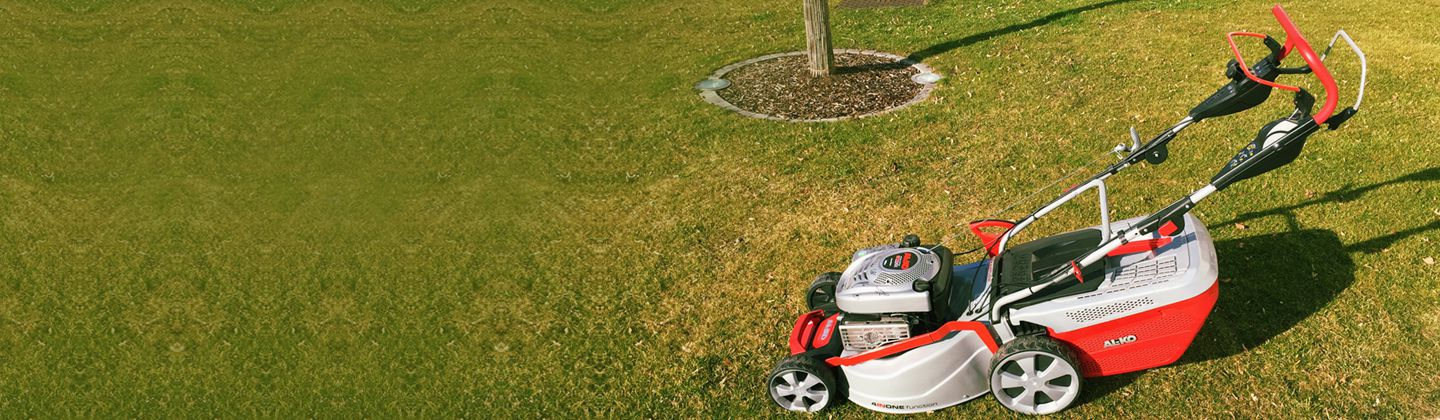 Signed Lawn Mower