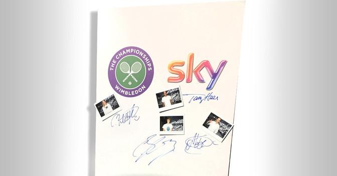 Signiertes aus Wimbledon