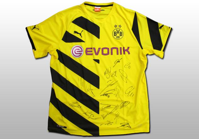 Signiertes BVB-Trikot