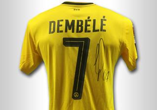 Signiertes Dembele Trikot