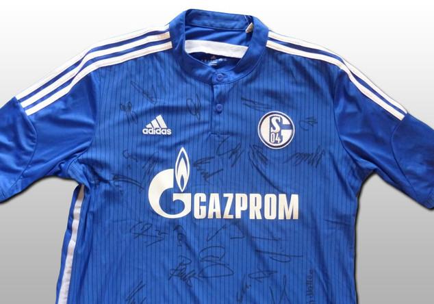 Signiertes Schalke Trikot