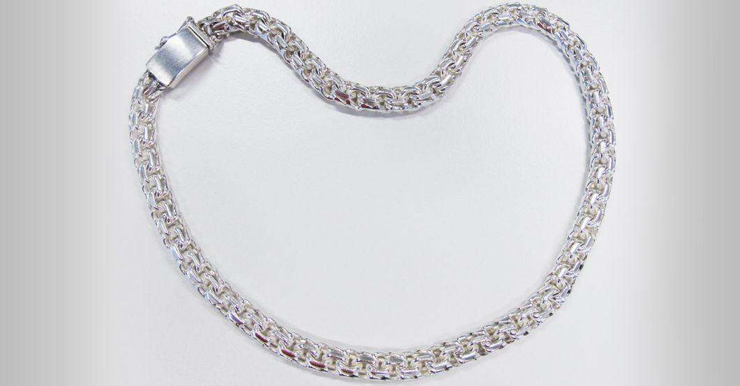Silber Halskette