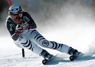 Skifahren mit Hilde Gerg