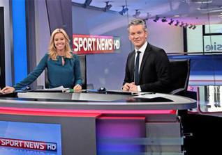 Sky Sport News backstage