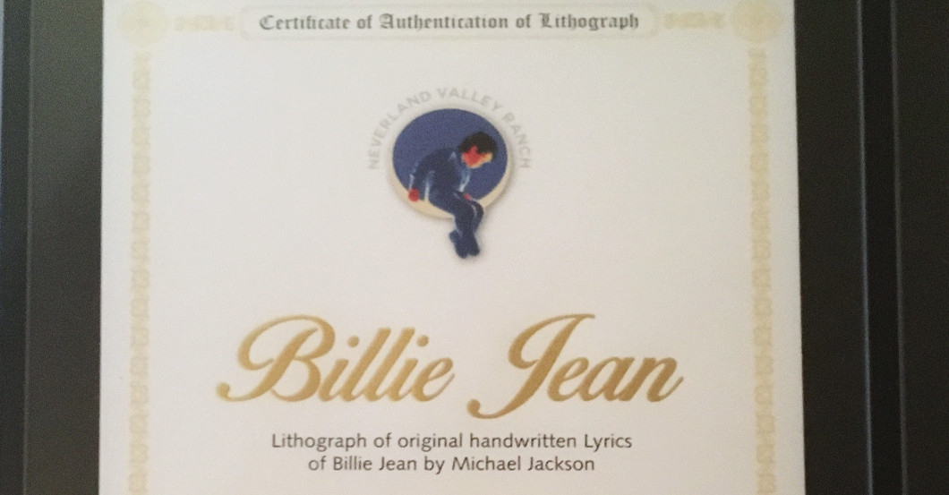 Songtext Billie Jean