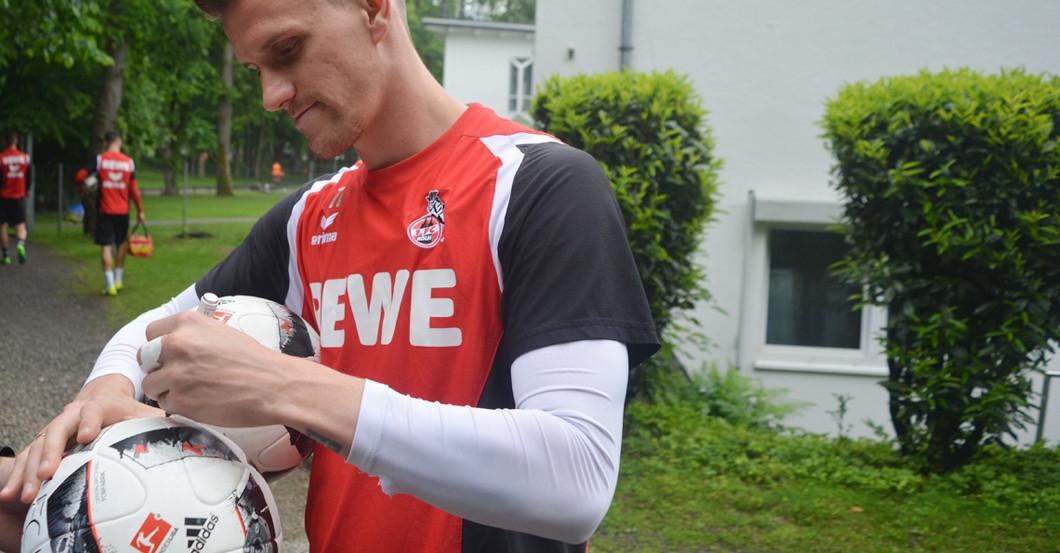 Spielball Köln vs Bremen