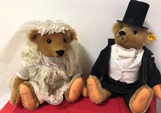 Steiff Brautpaar