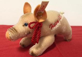 Steiff Schwein Happy