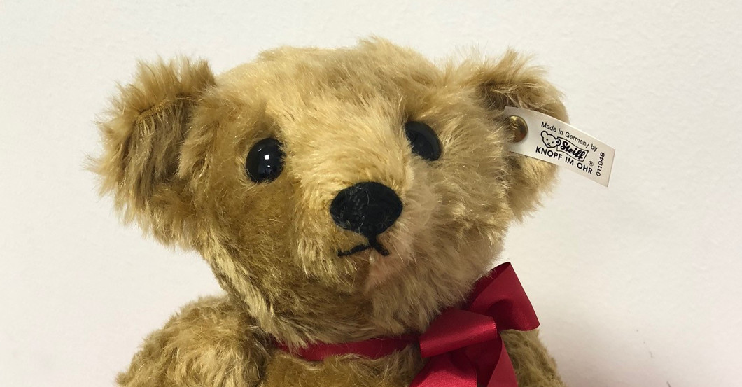 Steiff Teddy Tobias