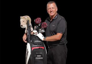 Stevenson golfen I