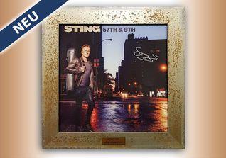 Stings signierte Platte