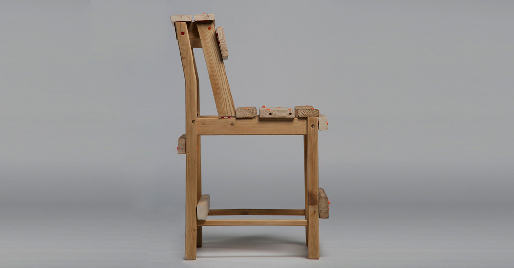 Design trifft kunst stuhl benchmark pauline schlautmann for Stuhl design kunst