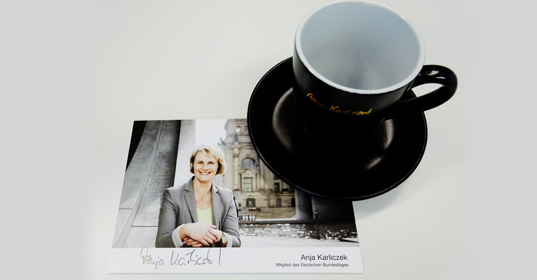 Tassen Anja Karliczek