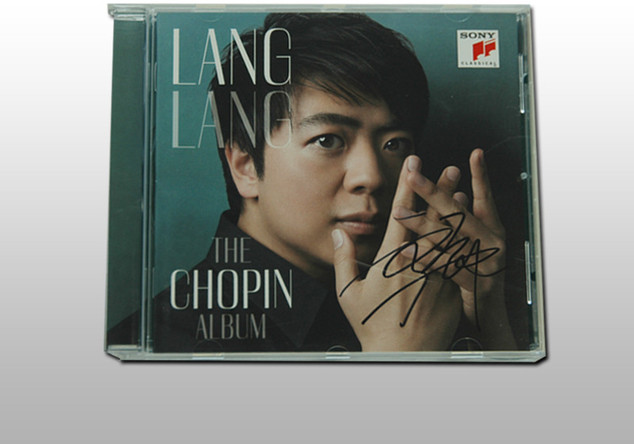 "Signiertes ""The Chopin Album"" von Lang Lang"