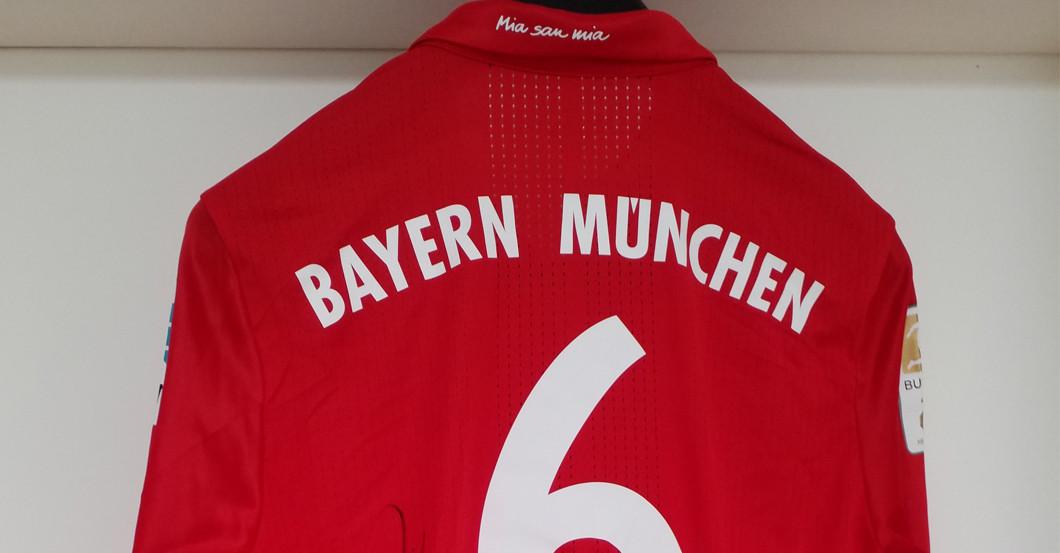 best sneakers 82184 79e2e Season Start: Bayern Munich Star Thiago Donated a Signed Shirt