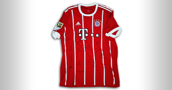 Trikot der Bayern