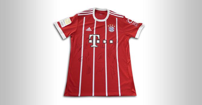 Trikot des FC Bayern