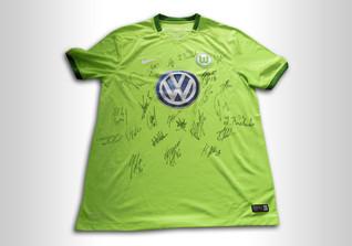 Trikot des VfL Wolfsburg